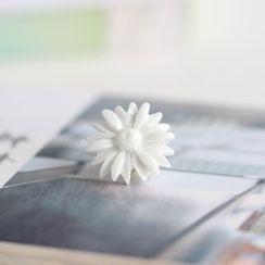 Porcelana - 碎花陶瓷胸针