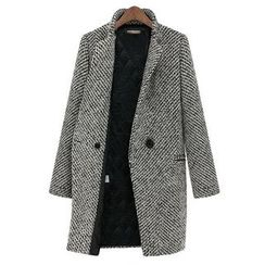 Flobo - Tweed Buttoned Coat
