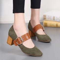 Forkix Boots - Block Heel Pumps