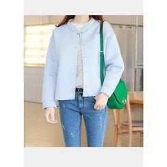 J-ANN - Snap-Button Jacket