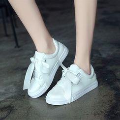 Charming Kicks - Patent Sneakers