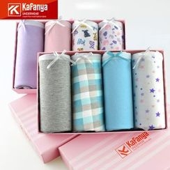 Kafanya - Set of 4: Menstruation Panties
