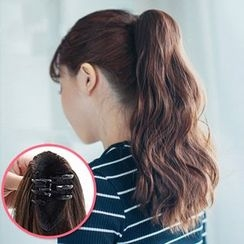 Vivian Wigs - Claw-Clip Long Ponytail - Wavy