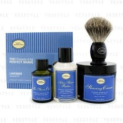 The Art Of Shaving - The 4 Elements Of The Perfect Shave - Lavender (Pre Shave Oil + Shave Crm + A/S Balm + Brush)