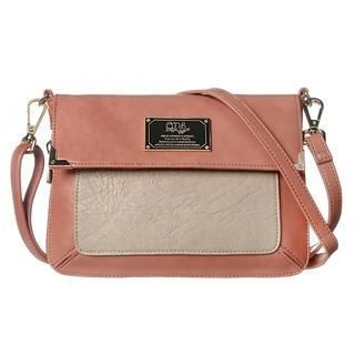 ans - Two-Tone Crossbody Bag