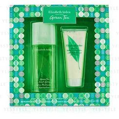Elizabeth Arden - Green Tea Coffret: Eau Parfumee Spray 100ml/3.3oz + Body Lotion 100ml/3.3oz