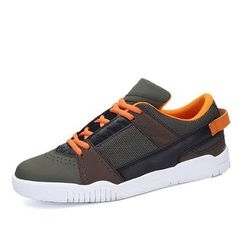EnllerviiD - Lace-Up Athlete Sneakers
