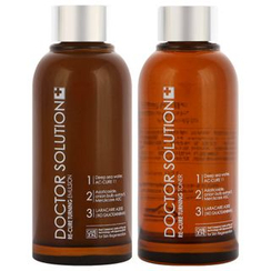 CAREZONE - Doctor Solution Re-Cure Set: Toner 150ml + 25ml + Emulsion 150ml + 25ml + Essence 5ml + Cream 10ml