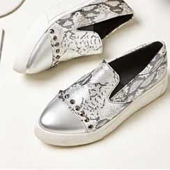 JY Shoes - Studded Slip Ons