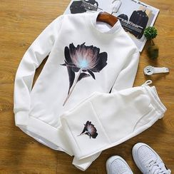 RIVOLO - Printed Pullover / Printed Sweatpants