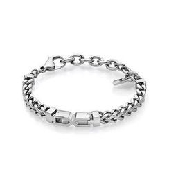 Kenny & co. - Steel X Shape Bracelet