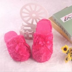 EMIL - Fleece Home Slippers