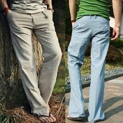 Sheck - Straight-Leg Pants