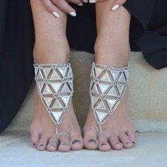 Seirios - Triangle Anklet