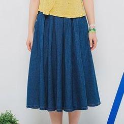 Isadora - A字牛仔短裙