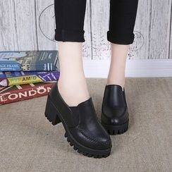 Simply Walk - Block Heel Loafers