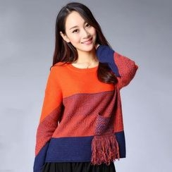 Tulander - Color Block Sweater