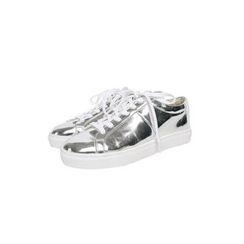 JOGUNSHOP - Patent Faux-Leather Sneakers