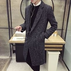YONDER - Wool Blend Tweed Coat