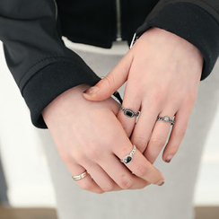 DANI LOVE - Set of 3: Rings