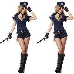 Hankikiss - 女警派对服装