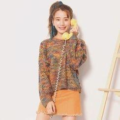 Emeline - 混色粗织毛衣