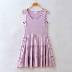 LaRos - Tiered Tank Dress