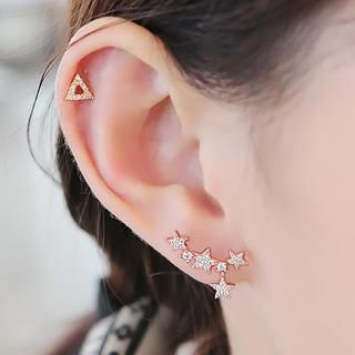 soo n soo - Star Earrings