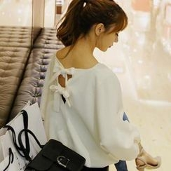 REDOPIN - Bow-Back Pullover