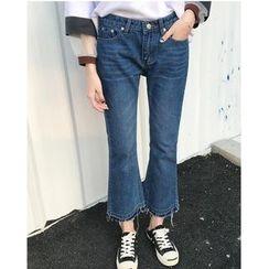 Oaksa - 靴型牛仔褲