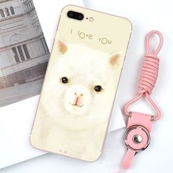 Kindtoy - Cat Print Mobile Case - iPhone 6s Plus
