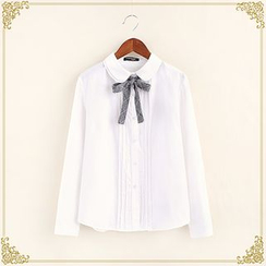 Fairyland - Tie Neck Shirt