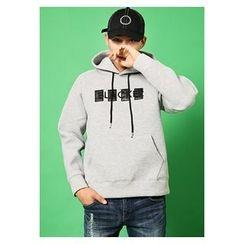 HOTBOOM - Drawstring Hooded Pullover