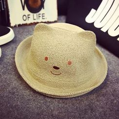 BYME - Kids Bear Bowler Hat