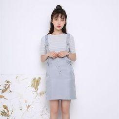 Porta - Plain Jumper Skirt