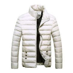 RUYA - Stand-Collar Padded Jacket