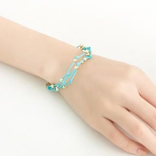 Cuteberry - Multi-Row Beaded Bracelet