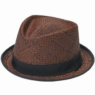 GRACE - Straw Fedora