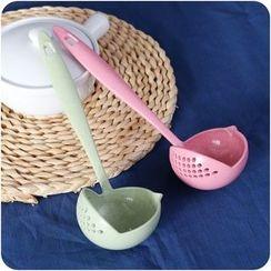 VANDO - 加厚塑胶长柄大汤勺