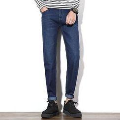 Hawoo - 直筒牛仔裤