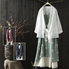 SASKIS - Linen Kimono Jacket