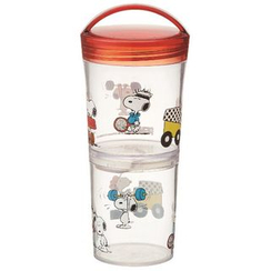Skater - SNOOPY Tumbler Lunch Box