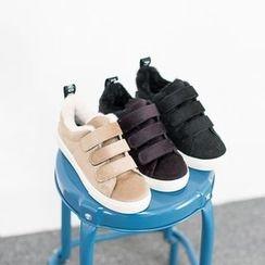 VIVIER - Velcro-Detail Star Print Sneakers