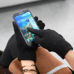 59 Seconds - Touchscreen Knit Gloves