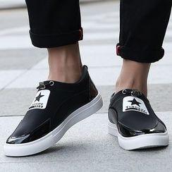Muyu - 星星印花轻便鞋