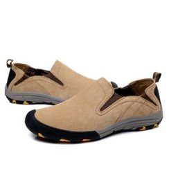 Van Camel - 真麂皮轻便鞋
