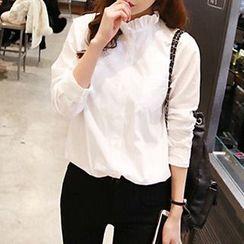 Rocho - Frill Collar Shirt