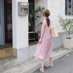 mimi&didi - Sleeveless Long Babydoll Dress