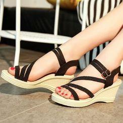 Shoeland - Wedge Sandals