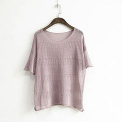 Ranche - Knit Short Sleeve T-Shirt